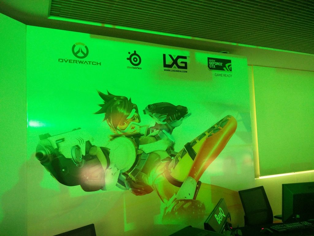 lxgindia overwatch tournament at nvidia india 10 gaming event
